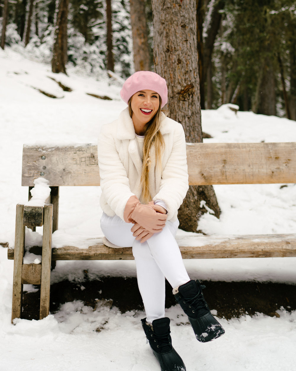 How to wear white this winter