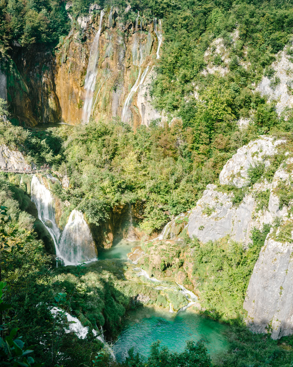 How to find the waterfalls in Croatia