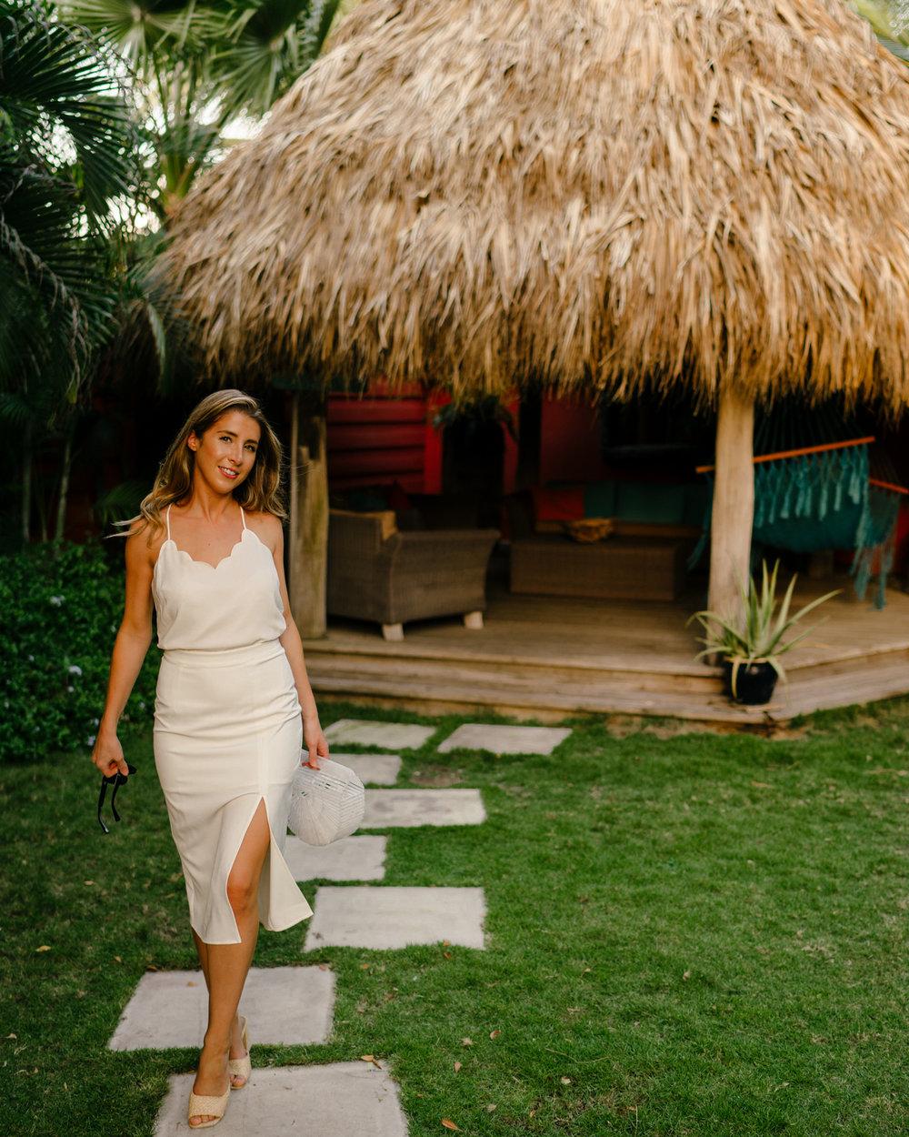 All white style in Aruba