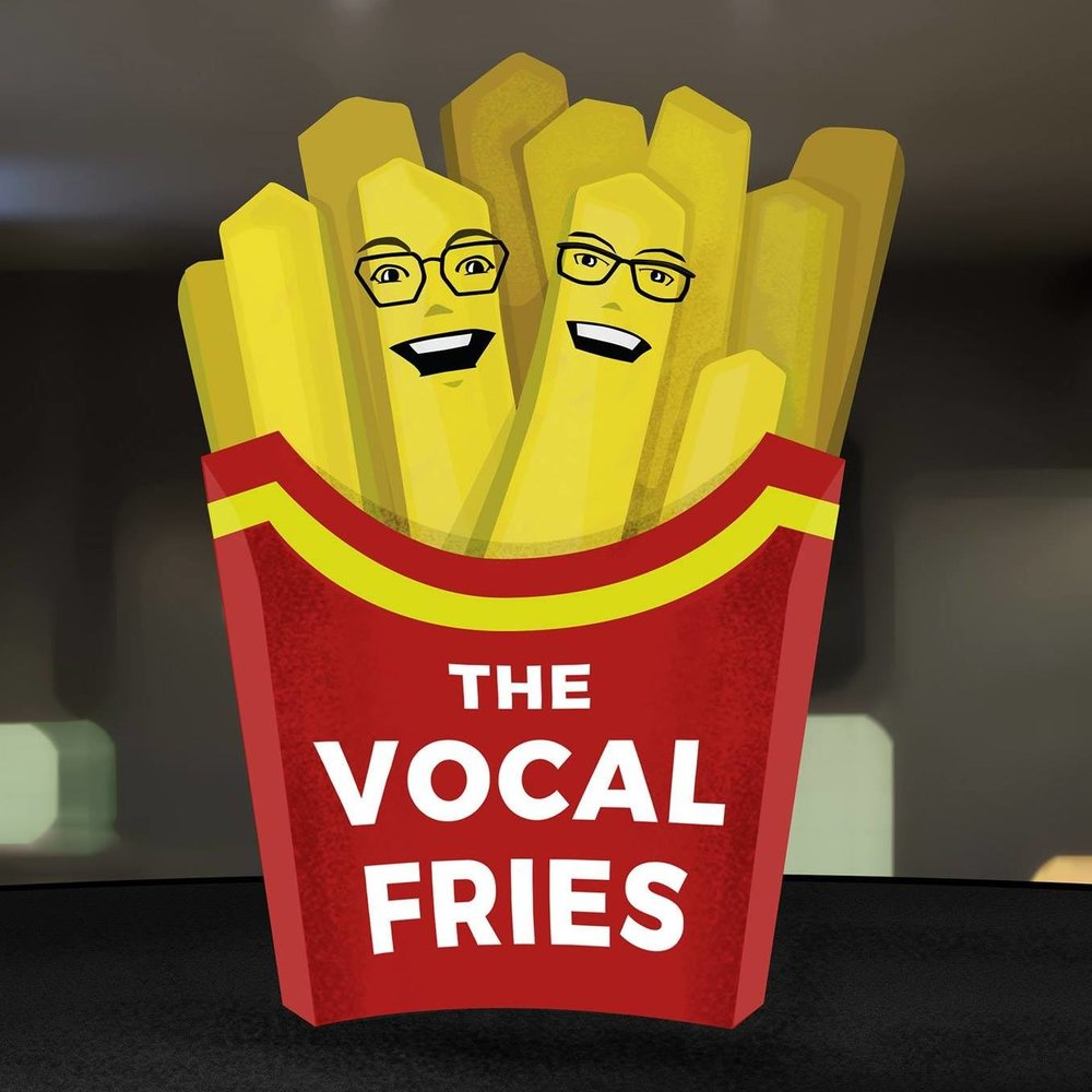 The Vocal Fries - Two linguists, Carrie Gillon and Megan Figueroa, discuss linguistic discrimination...essentially, why we judge people for how they talk and why we should stop doing it. Produced and edited by Chris Ayers. VocalFriesPod.tumblr.com