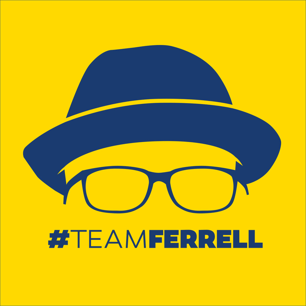 Marcus Ferrell  already had a primary branding for his Arizona House of Representatives campaign but he asked me to come up with a secondary branding for use on social media that included his signature hat and glasses. I adapted the campaign's signature colors for visual continuity.