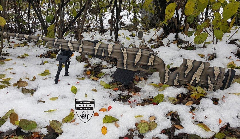 Riptile camouflage custom rifle..jpg