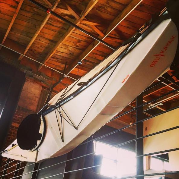 Oru Kayak 's collapsible kayak!   Photo Cred: Hemmer Design