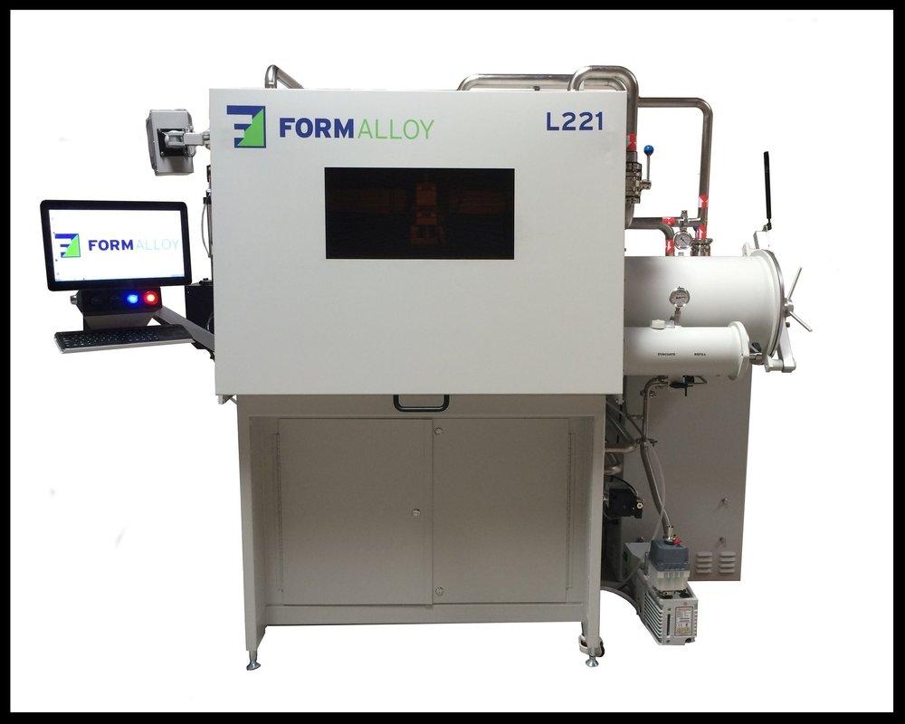 Formalloy's L-Series Laser Metal Deposition (LMD) system