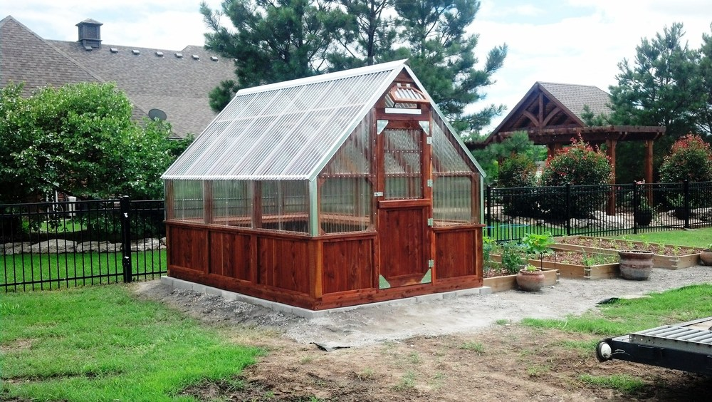 Beautiful at Home Greenhouses by Yoderbilt - photo#30