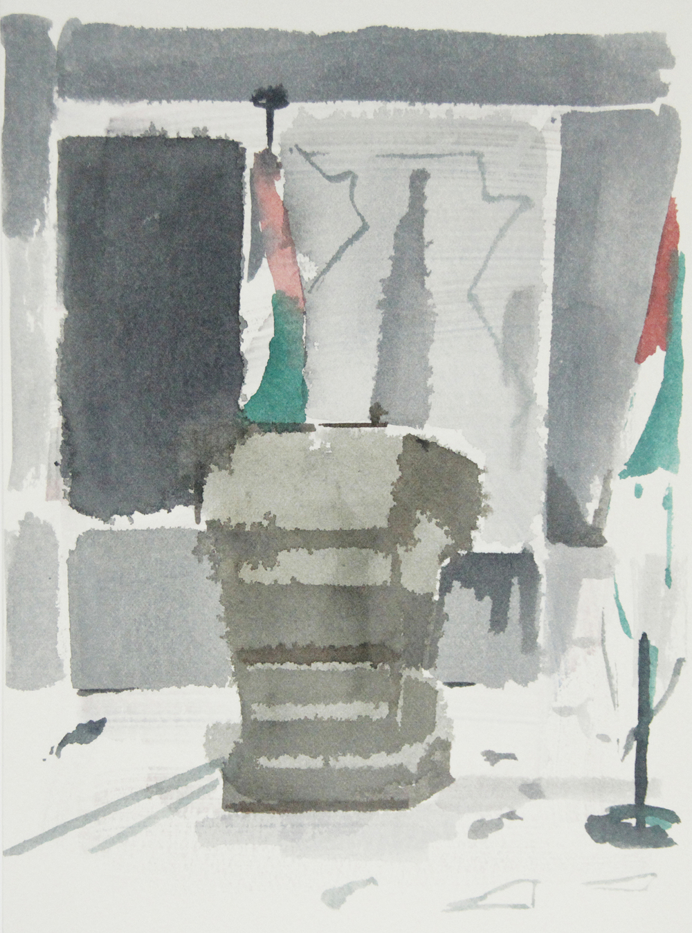 OCCUPIED TERRITORIES, 22.5 x 30.5cm, 2015