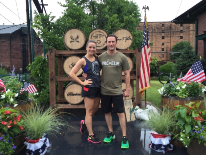 A rainy, but fun, 5k on the grounds of Buffalo Trace Distillery
