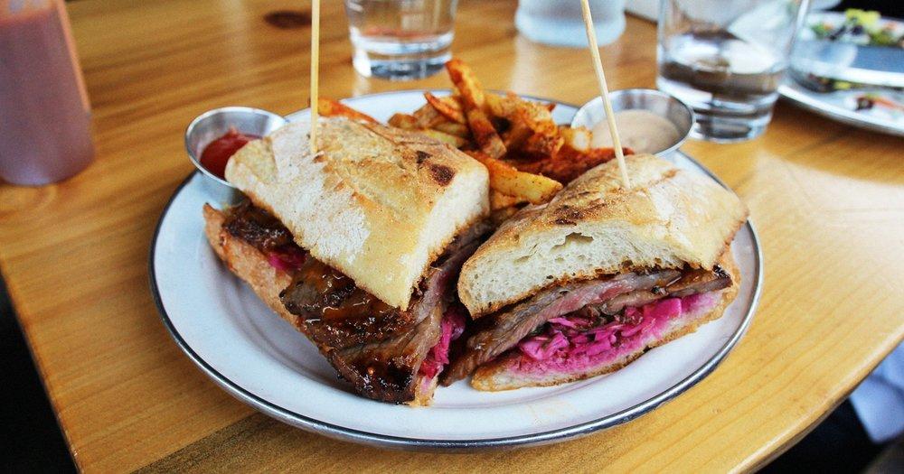 Tri-Tip Sandwich Clutch