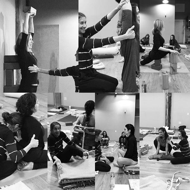 The magical brilliance of Nevine 💡 . . . #spirit #powerful #queen #teachertraining #yoga #katonahyogacenter #love #adjustment #hatha #spacetoilluminate @_nicoleeva @lifeinhighgear @deanamariec #birthdaygirl @prachi_724 @dagesjuvelierkeates #thankyou