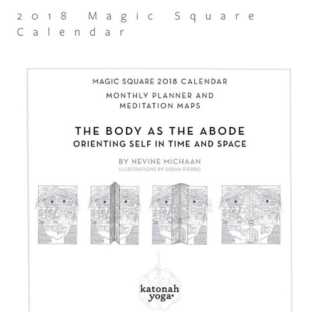 the teachings of extraordinary teacher Nevine Michaan today starts today at 3pm! This detailed and gorgeous calendar offered complimentary with the workshop, lead by wonderful @CarlosLuYoga. Link in bio, prepare to be wowed! . . . #nevinemichaan #katonahyogacenter #magic #moon #calendar #2018 #sundayselfcare #practice #yoga #taoist #daoist #elements #nature #practiceyou #body #mind #breath #spacetoilluminate