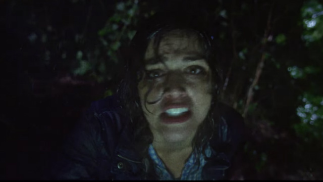 Callie Hernandez doesn't look very tired in Blair Witch