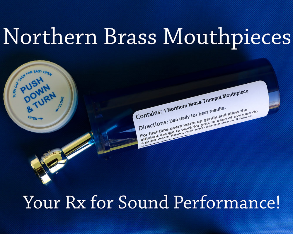 Mouthpieces - These mouthpieces are built by Gary Radtke of GR Mouthpieces.  This unique alpha angle design was developed in order to keep the chops supple and free to vibrate, yet provide support and fast, clean articulations.These mouthpieces are known for their solid sound in all registers, pointed articulations, and acrobatic flexibility.