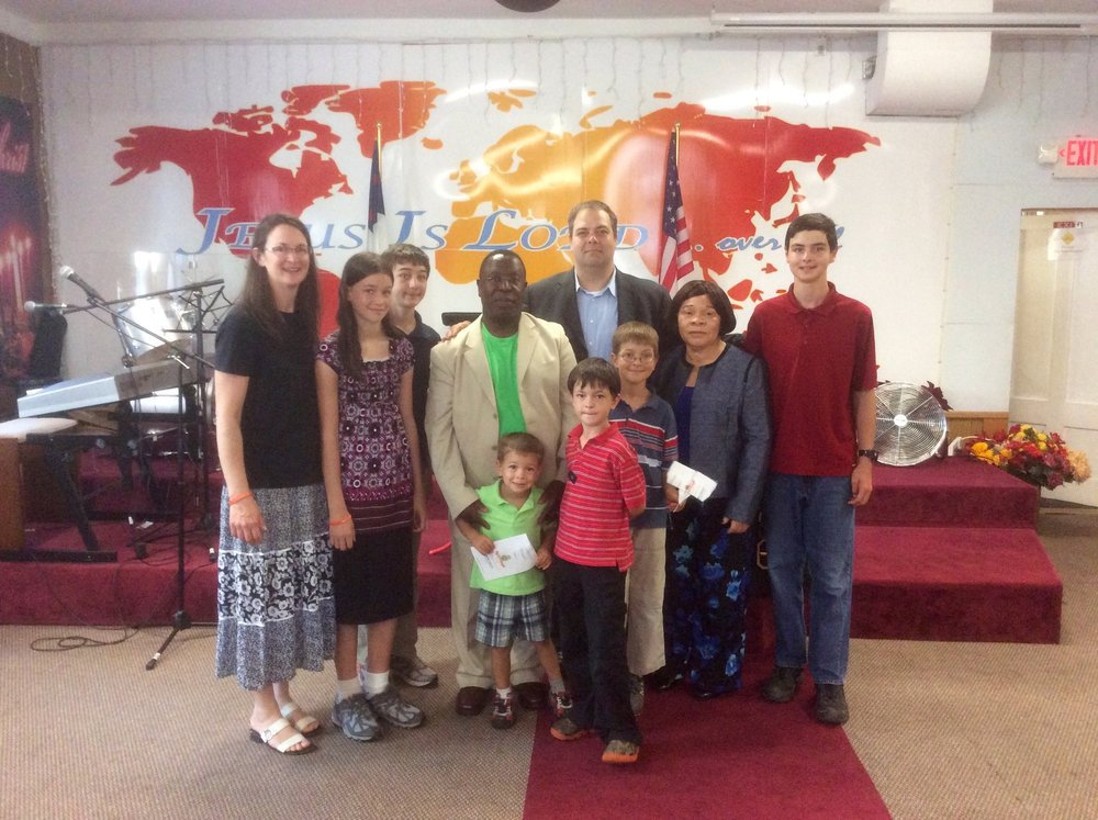 2015-Family Message and Trumpet Ministry with Family of Faith in Massachusetts