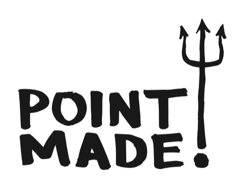 Point Made Logo Design by Christian Hundertmark / C100 Studio