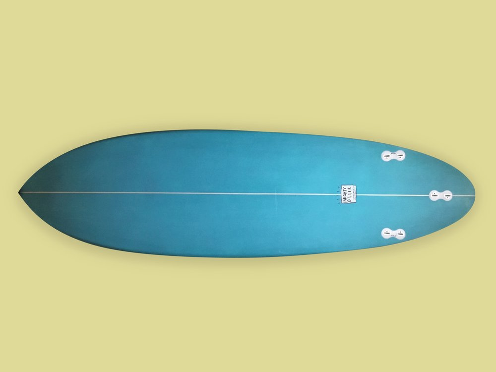 Mighty Otter Surfboards_Lo Fi Thrusterbottom_yellow.jpg