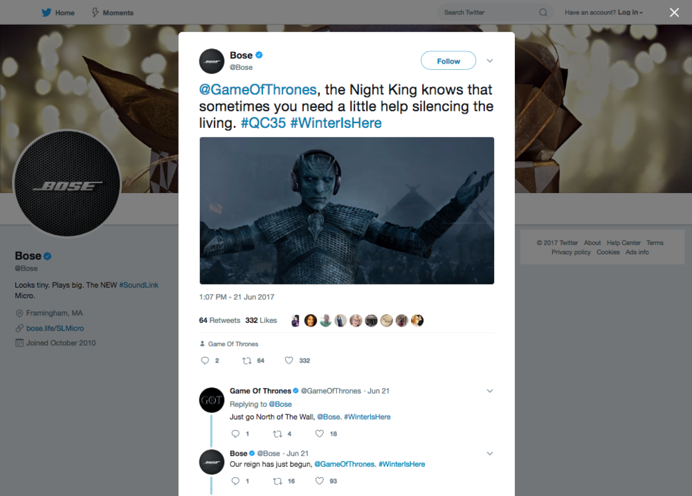 Bose_on_Twitter_GameOfThrones,_the_Night_King_knows_that_sometimes_you_need_a_little_help_silencing_the_living.png