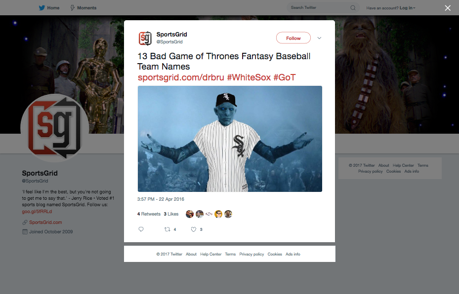 SportsGrid_on_Twitter_13_Bad_Game_of_Thrones_Fantasy_Baseball_Team_Names_t.co_V90zfhiLSa_WhiteSox_GoT_t.co_oOBtpTQsnO_-_2017-12-11_15.46.22.png