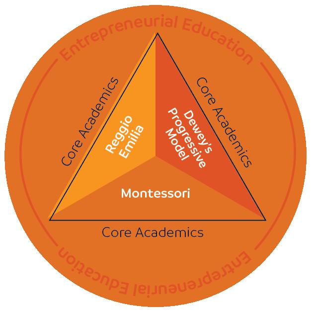 Triad Model Curriculum Diagram