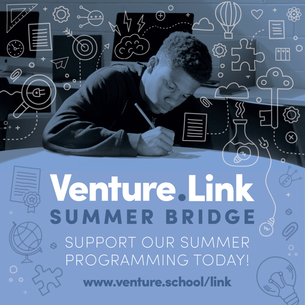 We're offering 30  #Detroit  students a summer learning experience of a lifetime, and we need your help to make it happen! Not only will these students be solidifying academic fundamentals, but will be empowered to unleash their entrepreneurial potential while school is out for the summer. Click the link in our bio and learn how you can support  #VentureLink  Summer Bridge!