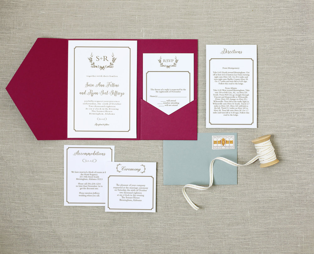 Basic Invite Wedding Suite