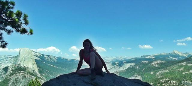 Posing @ El Capitan
