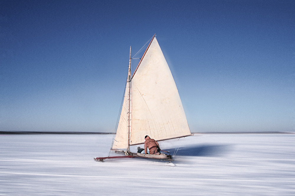Antique Iceboat, Mecox Bay