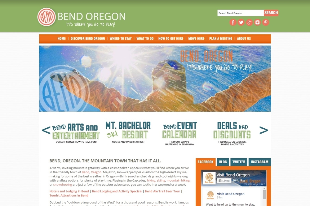 Visit Bend Recreation Guide