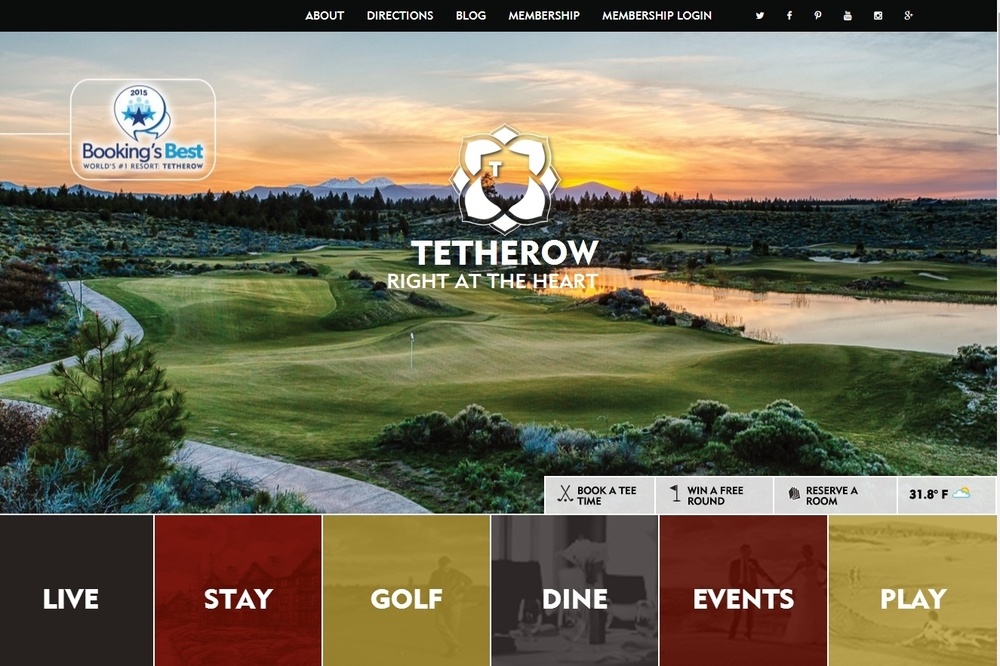 Tetherow Golf, Resort, Restaurant and More.