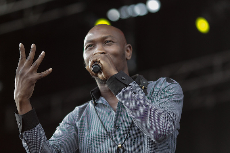 seun kuti egypt 80 rock the garden 2015 Minneapolis Minnesota Seth McGaha Photographer