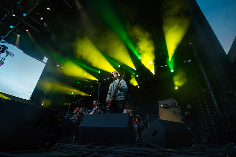 Modest Mouse Rock the Garden 2015