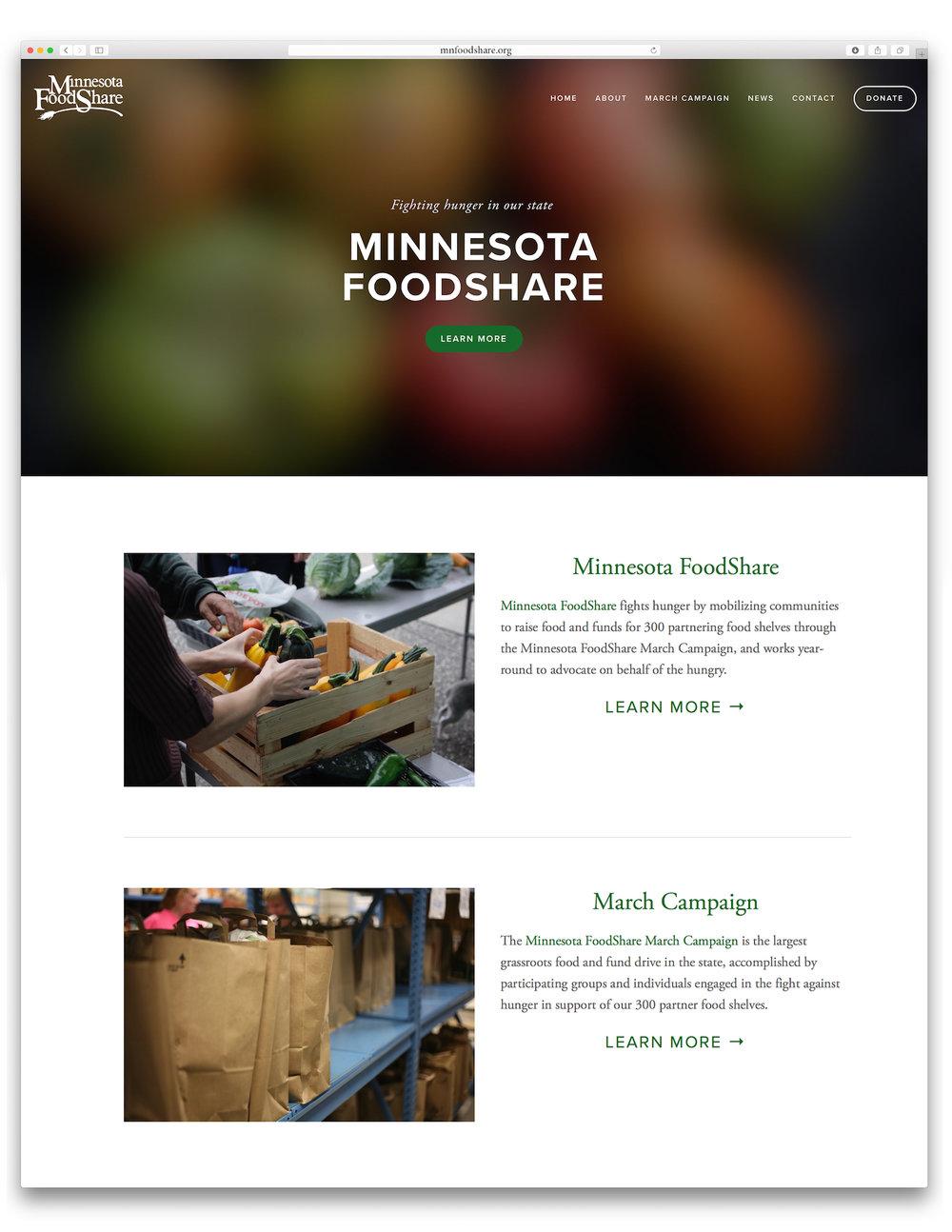 Minnesota FoodShare - Website