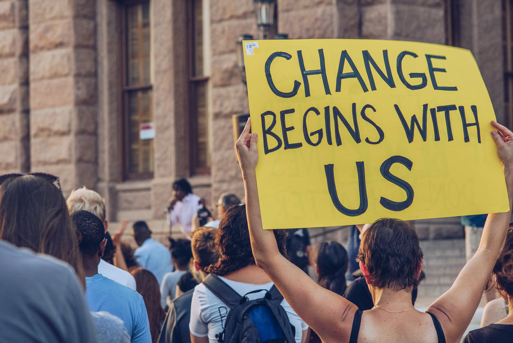 """""""Change Begins with Us"""""""
