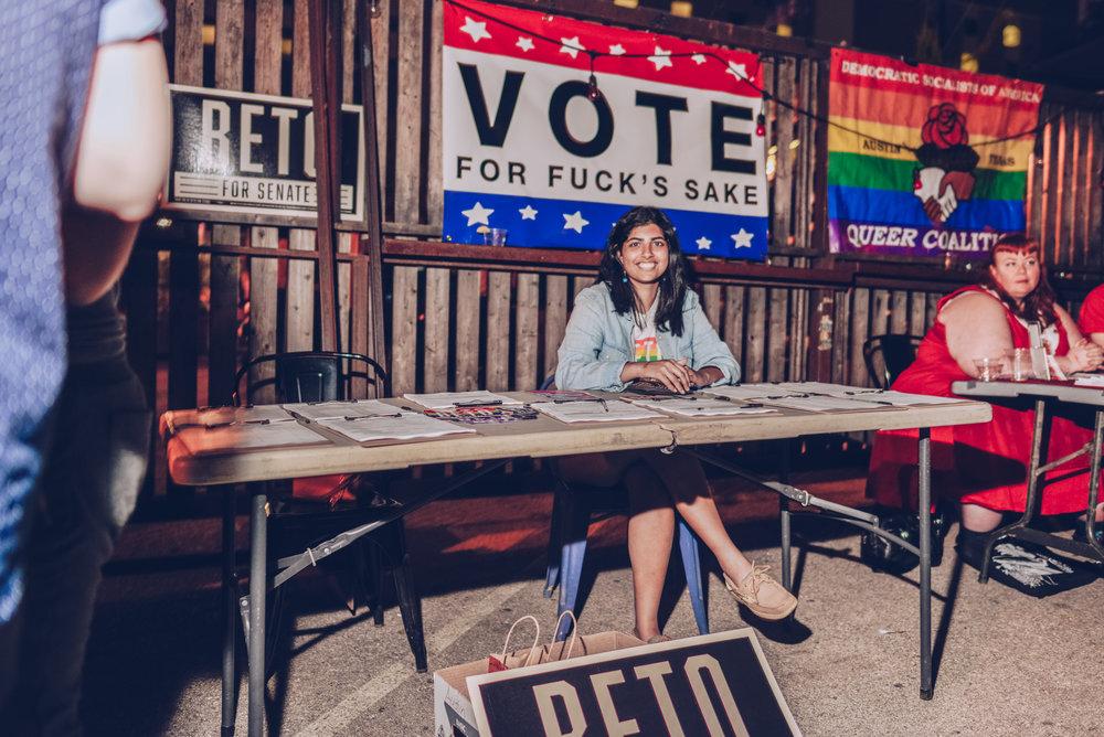 Vote… For Fuck's Sake