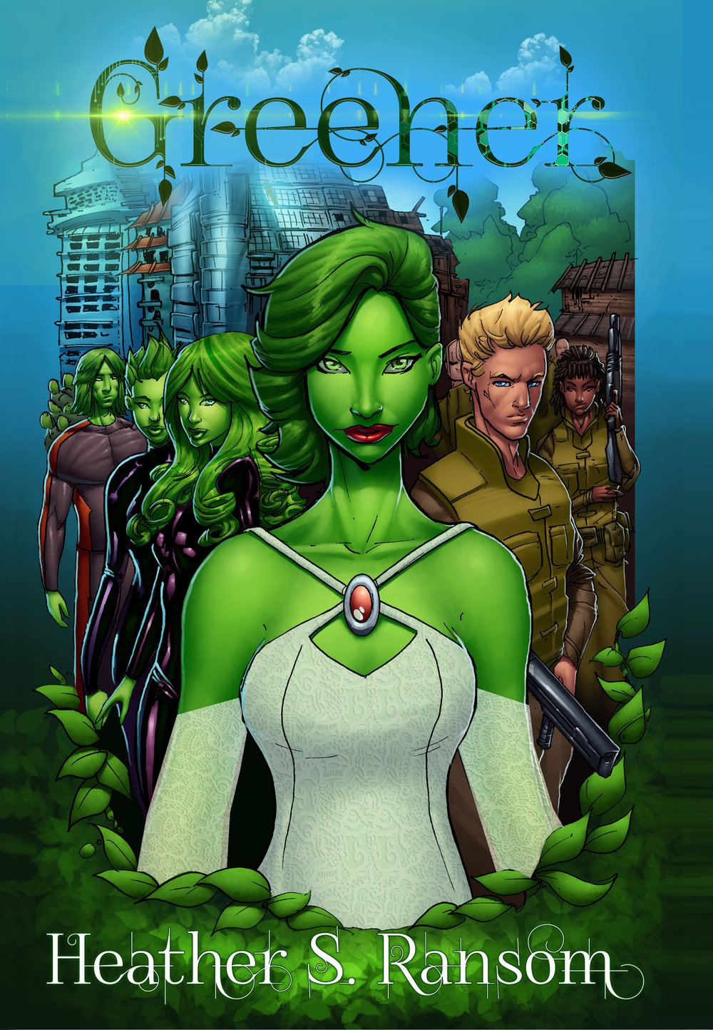 cover by Randy Kintz, coloring by Marcus Odom, and lettering by Kevin Snyder