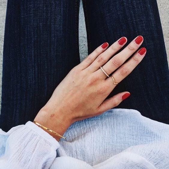 When in doubt, wear red. #regram