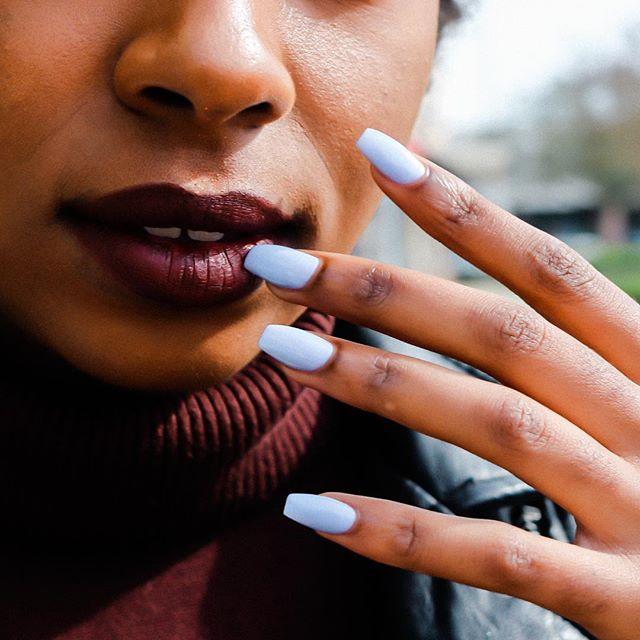 We make nail contact before we make eye contact 💅 #kanpai #opitokyocollection