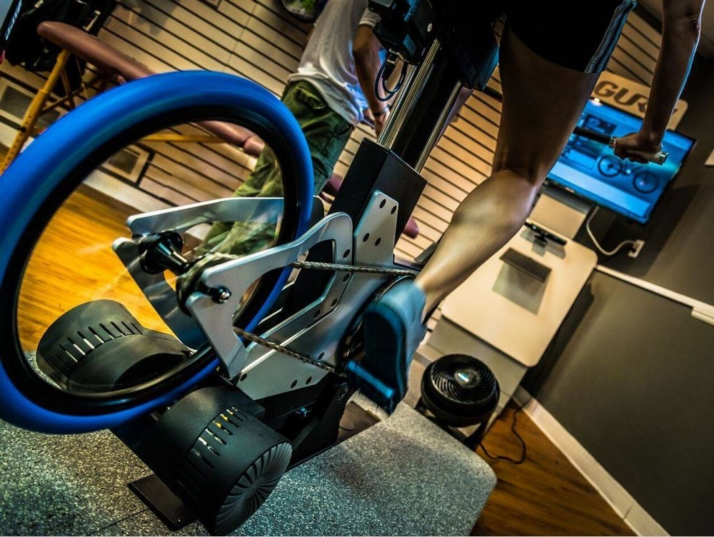 The computerized/motorized GURU DFU - the world's most advanced fitting bike