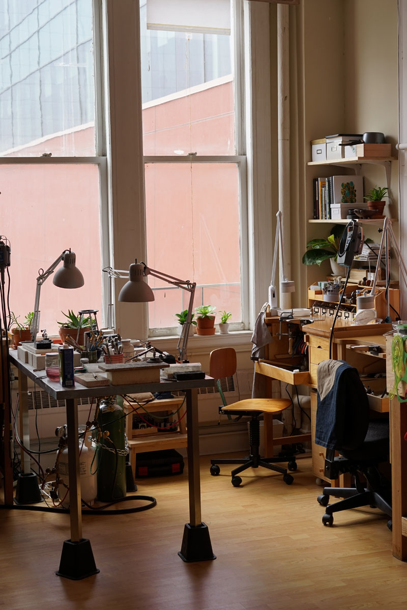 Christy Natsumi Artist Workshop Studio San Francisco 1