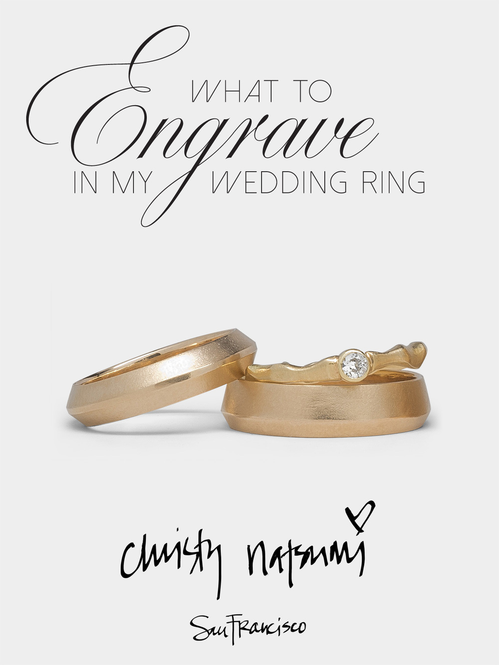 What to engrave in my wedding band_Christy Natsumi