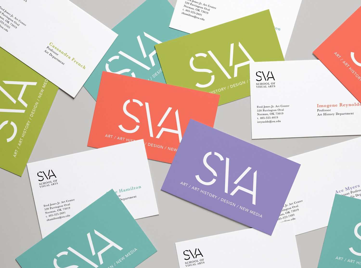 School identity alyssa teague realistic business cards mockup 4g reheart Image collections