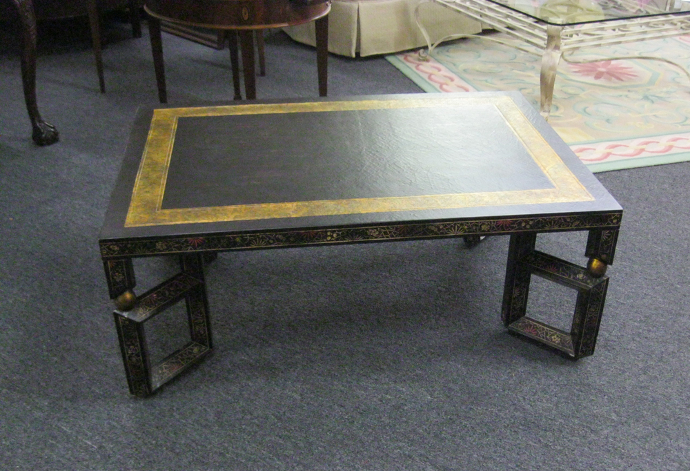 Chinoiserie Coffee Table by Baker