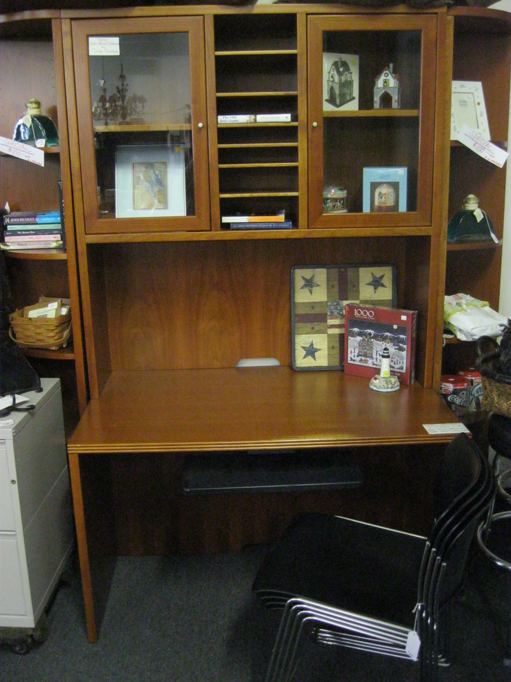 """""""SoHo"""" Desk & Hutch from Circle Furniture"""