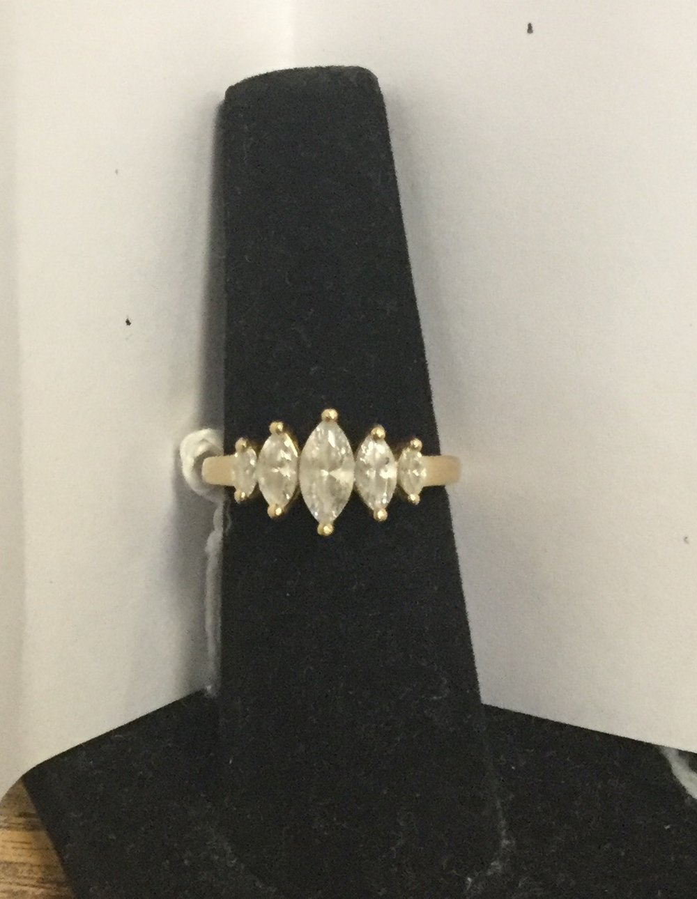 14k Marquis ring