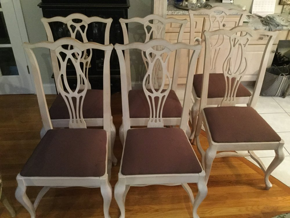 Set (6) Dining Chairs