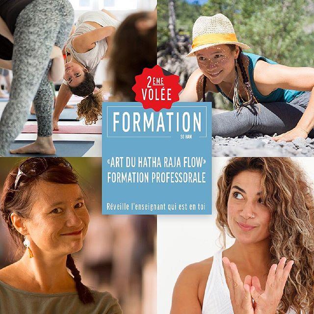 « ART DU HATHA RAJA FLOW » FORMATION PROFESSORALE  RÉVEILLE L'ENSEIGNANT QUI EST EN TOI  SoHam Yoga Studio est heureux de vous proposer une formation professorale en enseignement du « Hatha Raja Flow » 200H, certifiée par Yoga Alliance, en collaboration avec Lysiane Hulser Rogivue et Olivia Tüscher.  Cette formation est basée sur Le Hatha Raja Flow, forme évolutive de la pratique traditionnelle du Hatha Raja Yoga de Patanjali. C'est une approche dynamique saupoudrée d'un vinyasa créatif. La plupart des étudiants s'oriente vers le chemin de la formation professorale parce qu'ils ont expérimenté les effets transformateurs du yoga dans leur vie et veulent en apprendre plus sur cette pratique. Dans cette formation, vous apprendrez sur le corps physique, le corps énergétique, l'histoire du yoga, les préceptes philosophiques et éthiques qui sous-tendent la pratique, les avantages émotionnels psychosociaux, et bien plus encore. Avec cette formation, vous gagnerez les outils pour trouver votre propre voix et votre façon unique de partager une belle et ancienne pratique : le yoga.  Infos et inscription : lien dans la bio