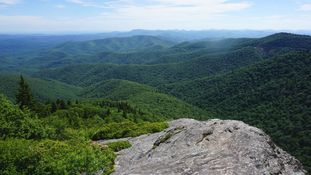 Overlook from the Devil's Courthouse.