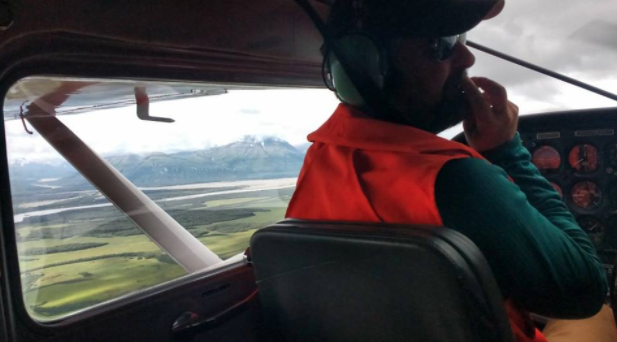 Access to Katmai requires a lot of flying.