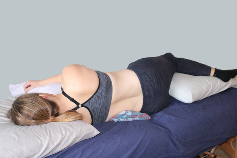correct sleep support for spine