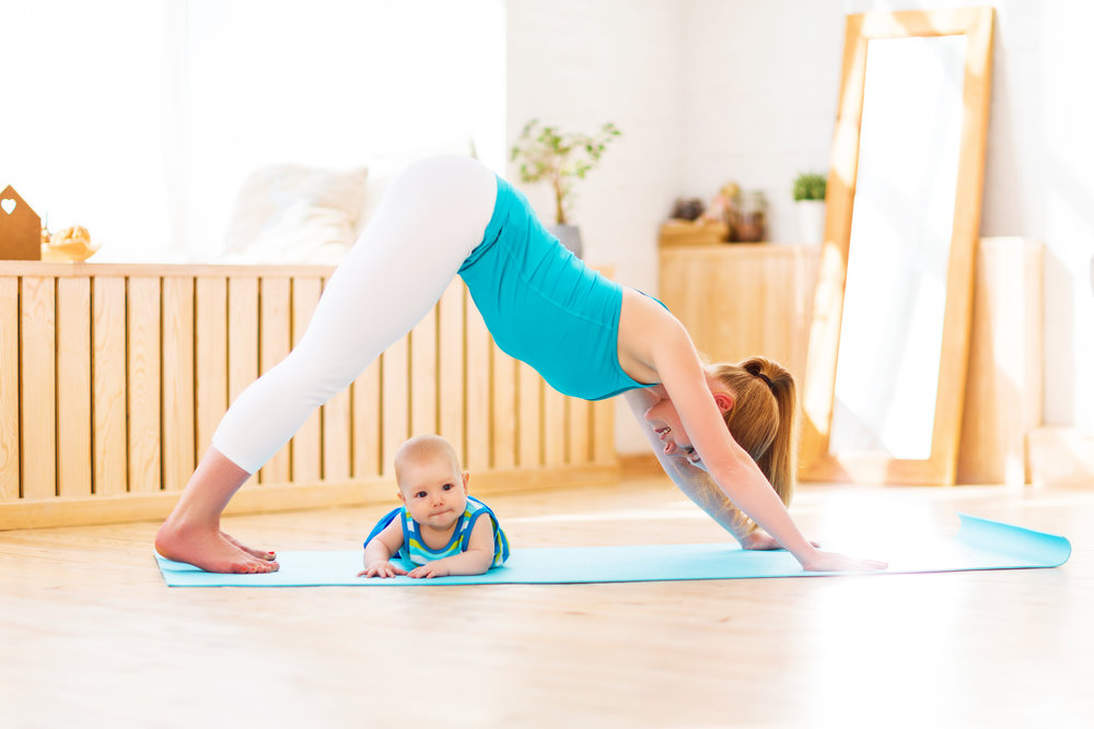 Reconnect with Postpartum Yoga and Exercise Classes -