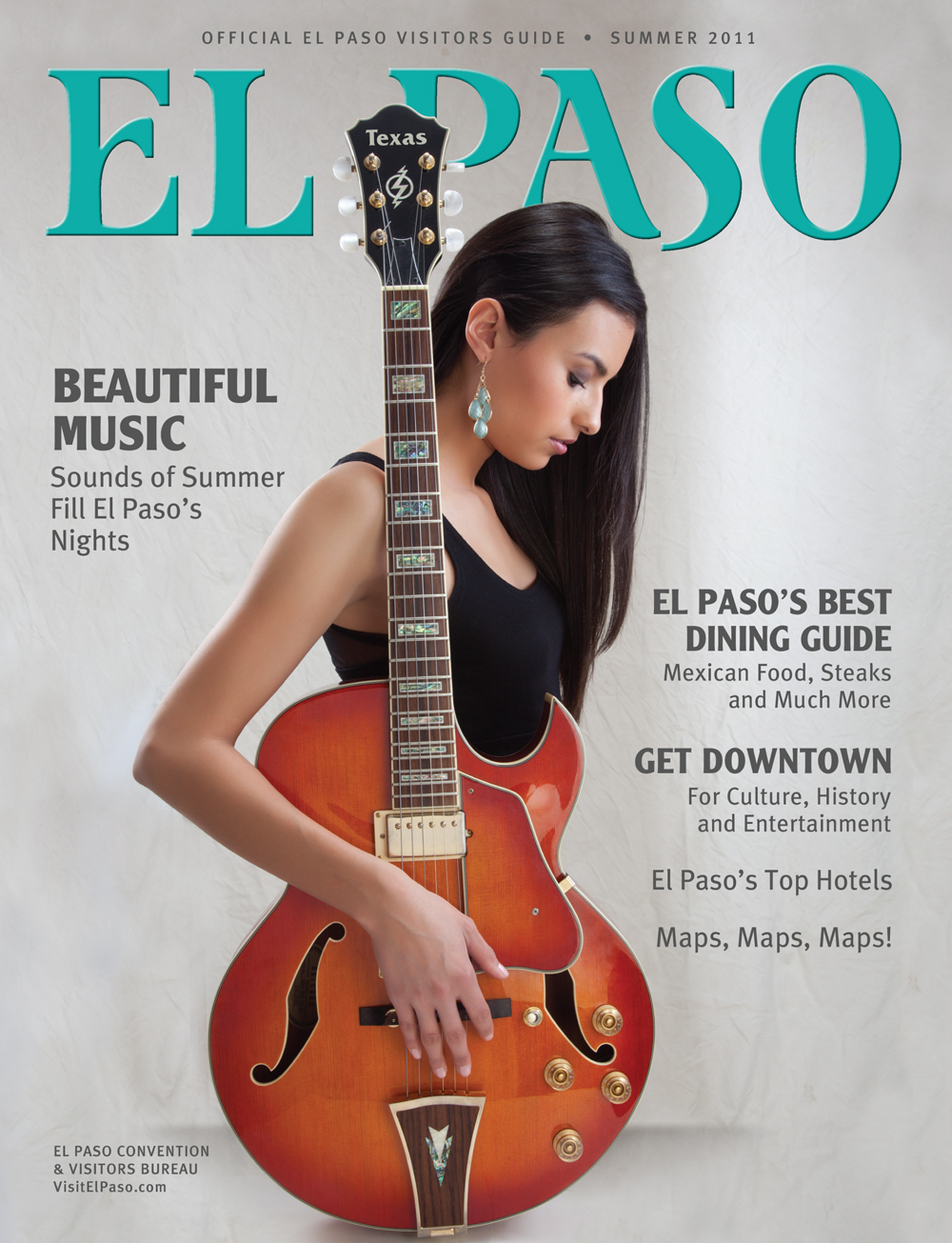 The Official El Paso Visitors Guide had a great run from 1998 through 2015 where our 3-person team (Don Baumgardt-publisher, Pam Murray-editor, Jud Burgess-designer) designed and produced over 50 magazines touting our fair city's positives while helping businesses grow in the process.  Don has since retired to put his full attention to his passions of mountain biking and geobetty.com.
